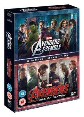 Avengers Assemble/ Age of Ultron DVD