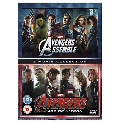 Avengers Assemble/ Age of Ultron DVD