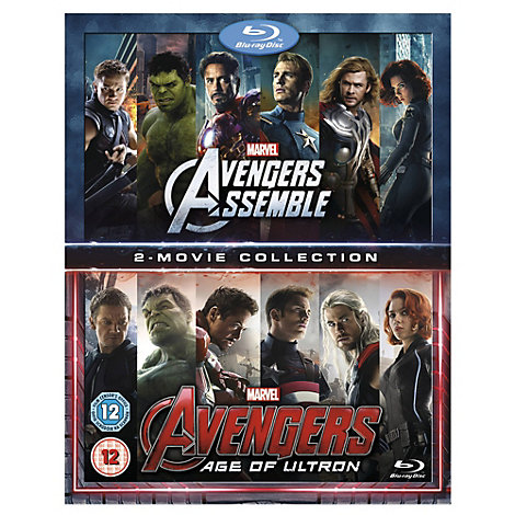 Avengers Assemble/ Age of Ultron Blu-ray