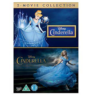 Cinderella Animated & Live Action DVD