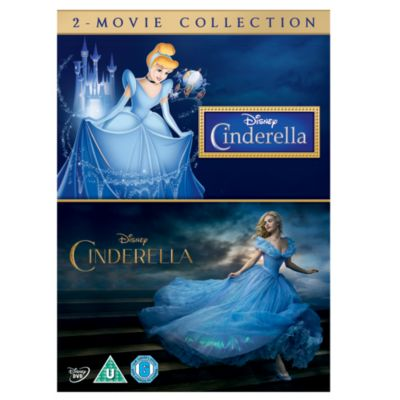 Cinderella Animated & Live Action DVD