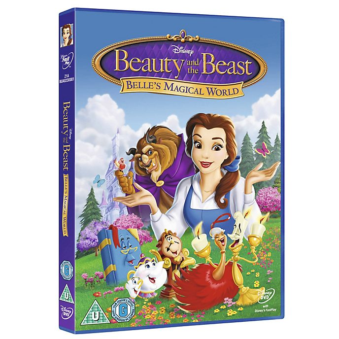 Beauty and the Beast - Belle's Magical World DVD