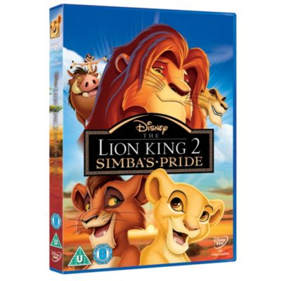 The Lion King 2: Simba's Pride DVD