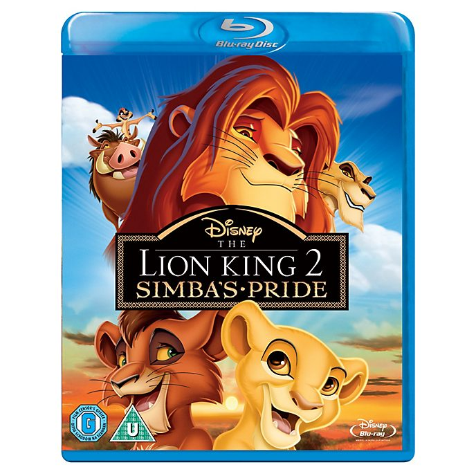 The Lion King 2: Simba's Pride Blu-ray