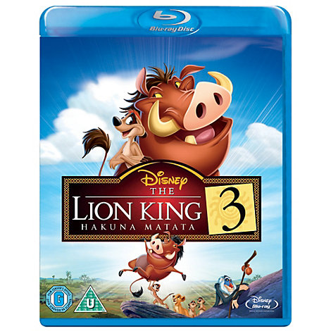 The Lion King 1 1/2 Blu-ray