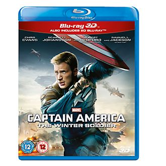 Captain America: The Winter Soldier 3d Blu-ray