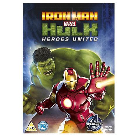 Marvel's Iron Man & Hulk: Heroes United DVD