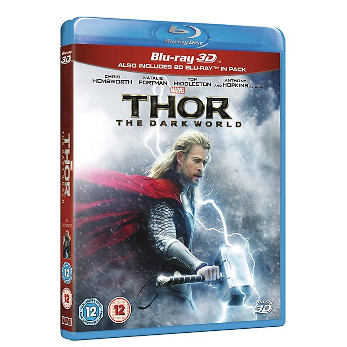 Thor: The Dark World 3D BD