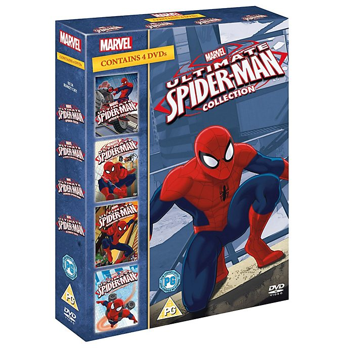 Ultimate Spider-Man 1-4 Boxset DVD