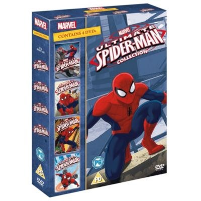 Ultimate Spiderman 1-4 Boxset DVD