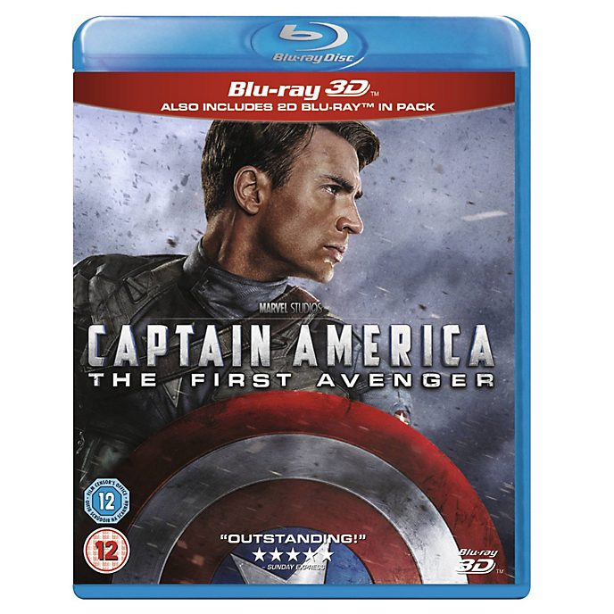 Captain America: The First Avenger 3d Blu-ray