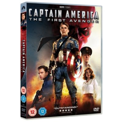 Captain America: The First Avenger DVD