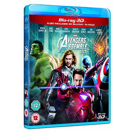 Avengers Assemble 3D Blu-ray