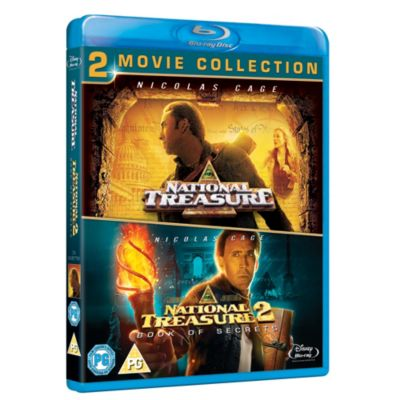National Treasure & National Treasure: Book of Secrets Blu-ray