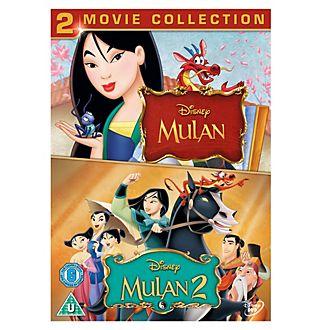 Mulan & Mulan II DVD
