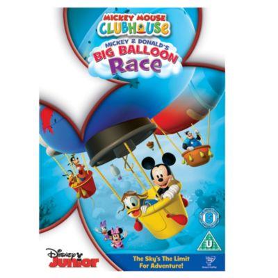 Mickey & Donald's Big Balloon Race DVD