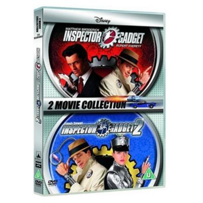 Inspector Gadget 1 & 2 DVD UK
