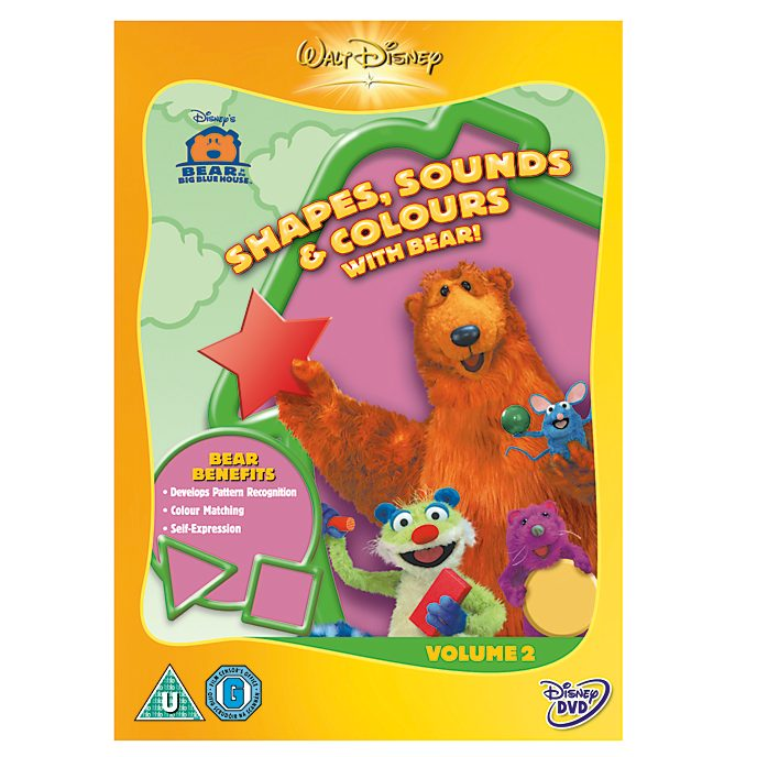 Bear In The Big Blue House - Shapes, Sounds & Colours DVD