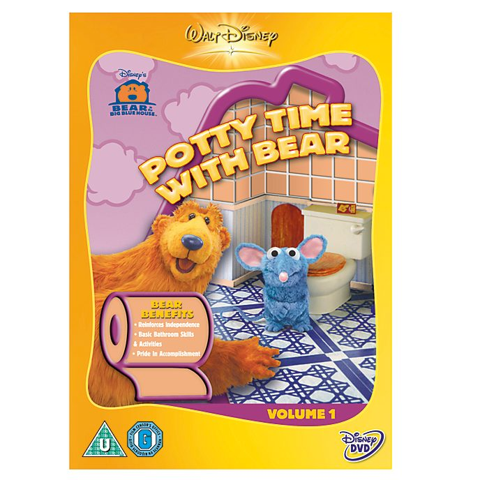 Bear In The Big Blue House - Potty Time DVD