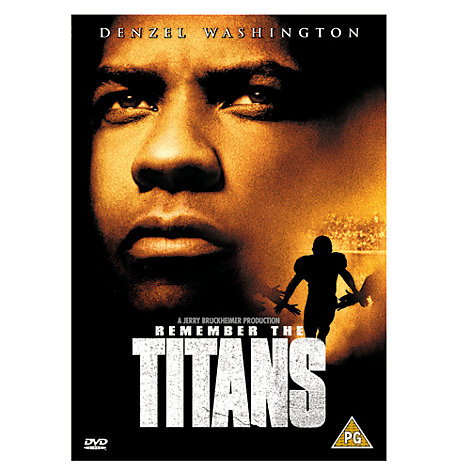 Remember the Titans DVD