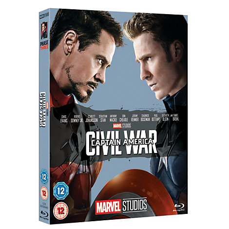 Captain America: Civil War Blu-ray