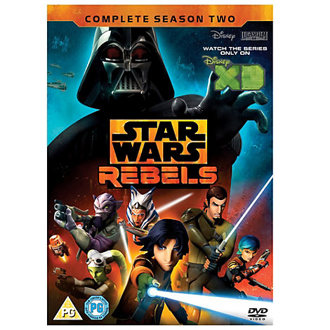 Star Wars Rebels: Season 2 DVD
