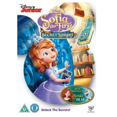 Sofia the First - The Secret Library DVD