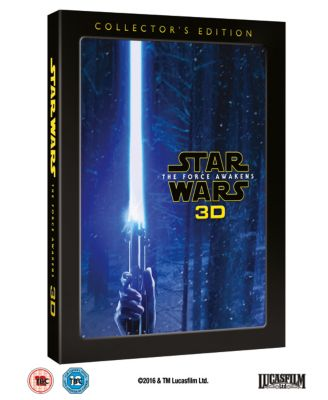 Star Wars: The Force Awakens 3D Collector's Edition Blu-ray