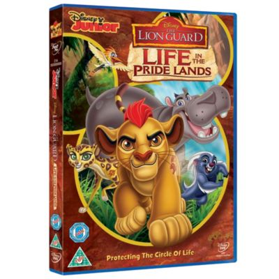 The Lion Guard: Life In The Pridelands DVD