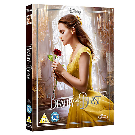 Beauty & The Beast Live Action Blu-ray (with Limited Edition Artwork Sleeve)