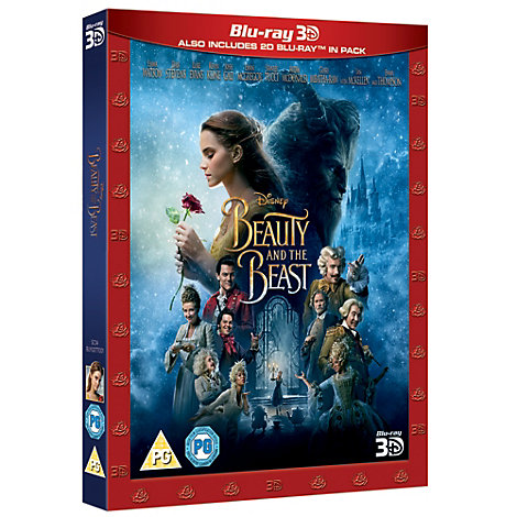 Beauty & The Beast Live Action 3D Blu-ray