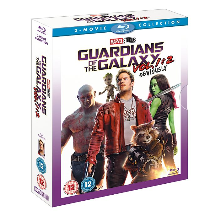 Guardians of The Galaxy/Guardians of the Galaxy Vol. 2 Doublepack Blu-ray