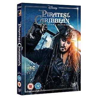 Pirates of the Caribbean: Salazar's Revenge DVD