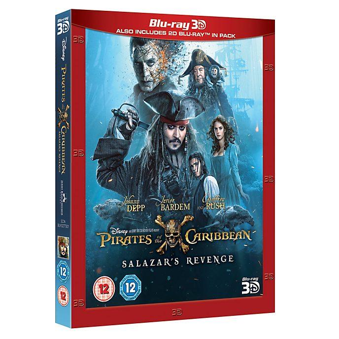 Pirates of the Caribbean: Salazar's Revenge 3D Blu-ray