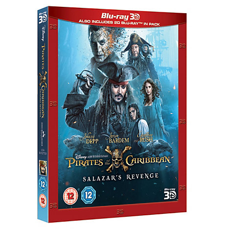 Pirates of the Caribbean: Salazar's Revenge 3D Blu-ray