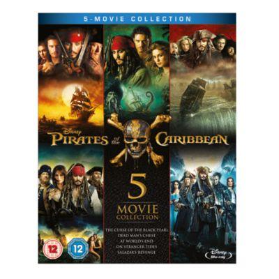 Pirates of the Caribbean 1-5 Blu-ray Boxset
