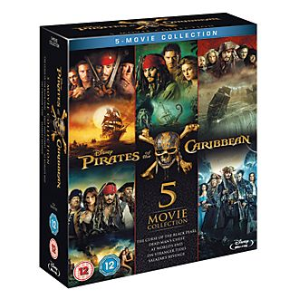 Pirates of the Caribbean 1-5 Blu-ray Boxset