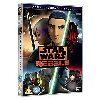 Star Wars Rebels Season 3 DVD