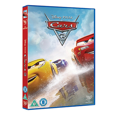 cars 3 dvd. Black Bedroom Furniture Sets. Home Design Ideas