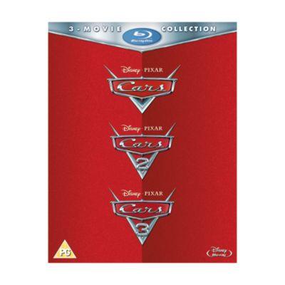 Cars 1-3 Blu-ray Boxset