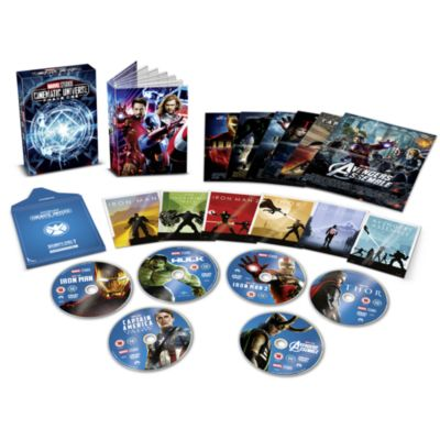 Marvel Studios Collector's Edition DVD Box Set - Phase 1