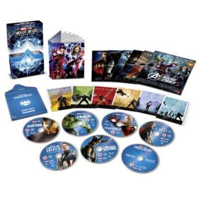 Marvel Studios Collector's Edition Blu-ray Box Set - Phase 1
