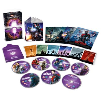 Marvel Studios Collector's Edition Blu-ray Box Set - Phase 2