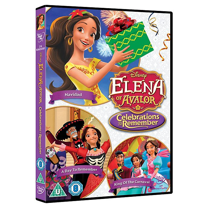 Elena of Avalor Celebrations to Remember DVD