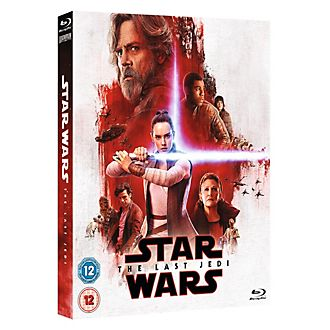 Star Wars: The Last Jedi Blu-ray with Limited Edition The Resistance Artwork Sleeve