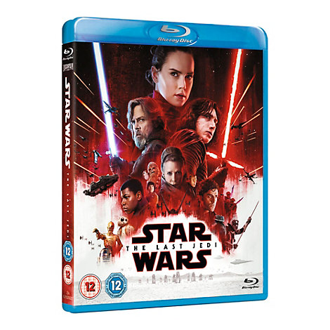Star Wars: The Last Jedi Blu-ray with Limited Edition The First Order Sleeve