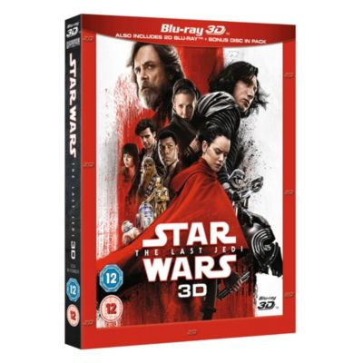 Star Wars: The Last Jedi 3D Blu-ray