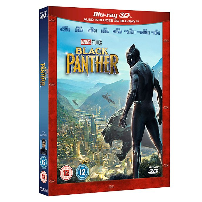 Black Panther 3D Blu-ray
