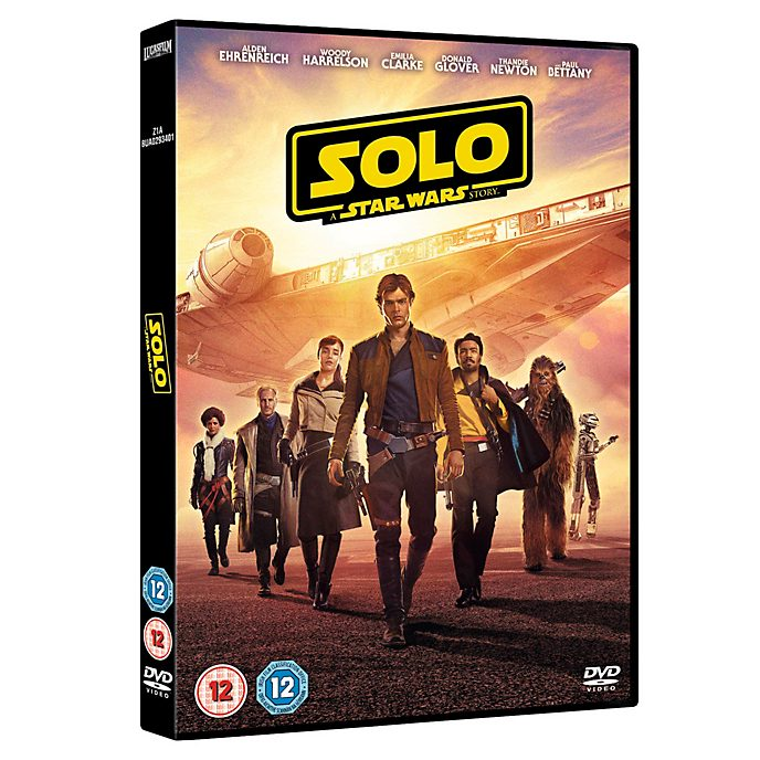 Solo: A Star Wars Story DVD