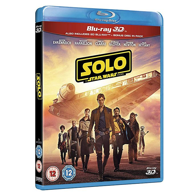 Solo: A Star Wars Story 3D Blu-ray